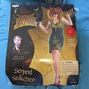 Dark Bazaar Serpent Seductress Costume